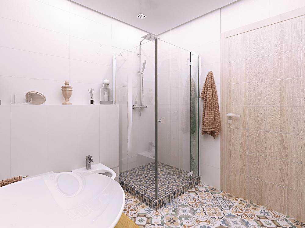 Ванная комната, душевая кабина