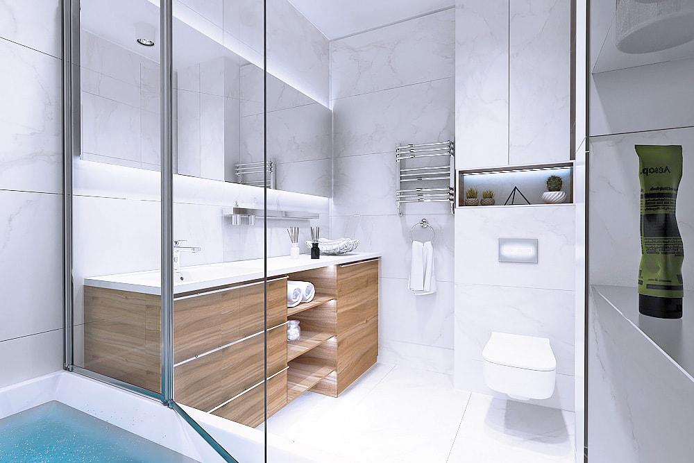 Ванная комната, общий вид