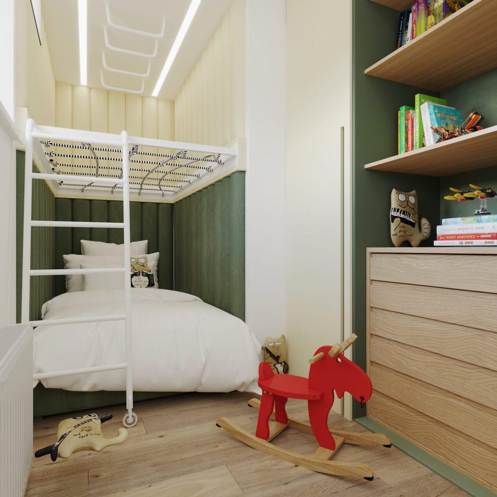 Интерьер детской комнаты в Новой Боровой