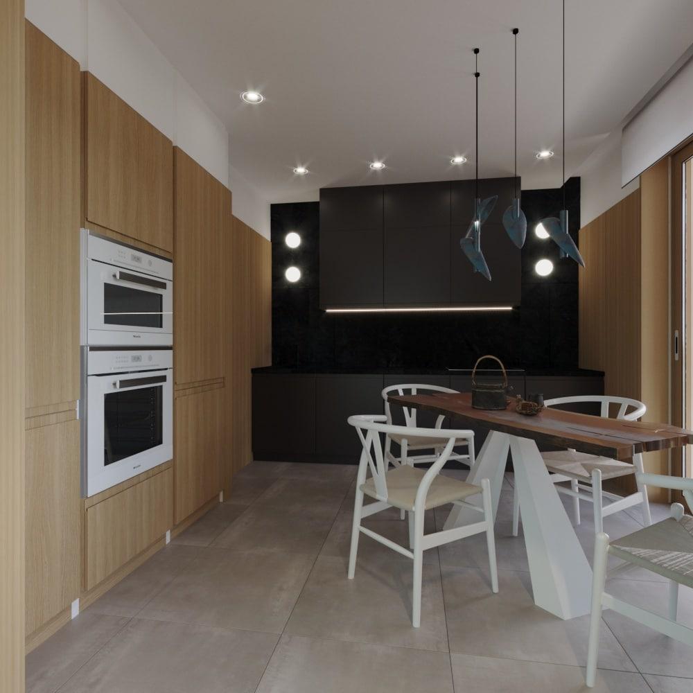 дизайн интерьера кухни в Новой Боровой