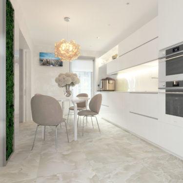 Дизайн интерьера кухни по ул.Туровского