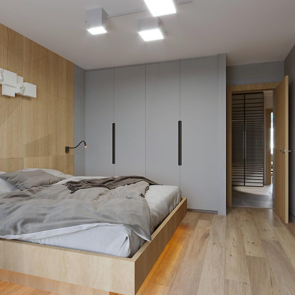 Интерьер спальни в Новой Боровой