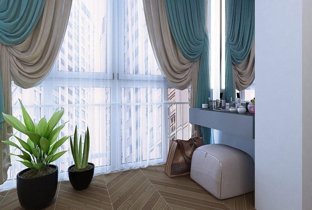 Спальня, окно