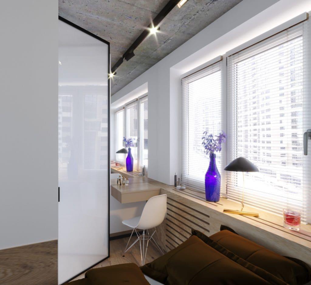дизайн интерьера балкона в квартире