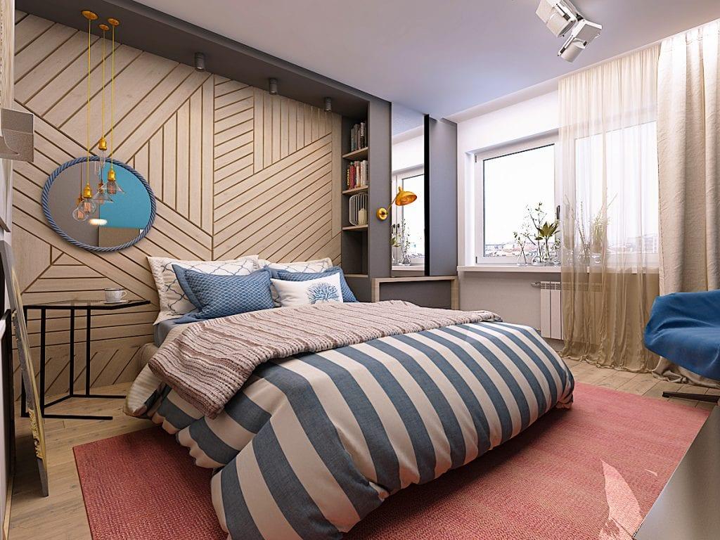 Спальня, общий вид