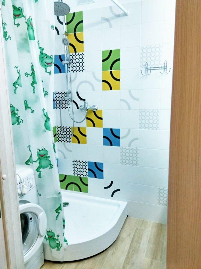 Ванная комната, душевой поддон