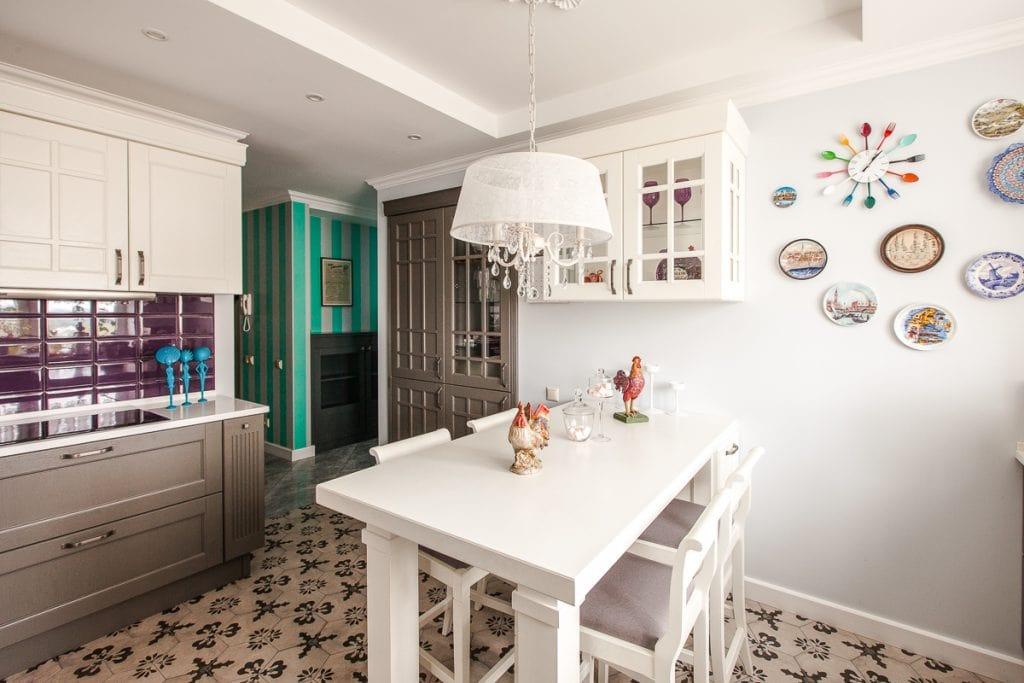 Фото интерьера кухни-столовой